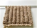 Knitting patterns BRIOCHE STITCH le point de tricot côte anglaise вязание Английская резинка