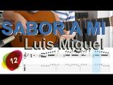 Sabor A MI Luis Miguel - Tutorial Tabs  SOLO #12