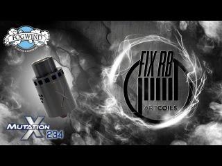 Доброе утро №44 /кофе и MUTATION X234 RDA by Fogwind  LIVE  16.09.16   09:30 MCK