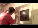 Укладка плитки в ванной - 8часть/Оконные откосы
