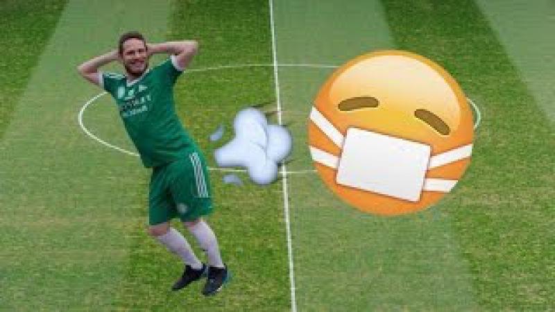 Jogador, expulso, peidar em campo, Jogador é expulso por soltar peido durante jogo.