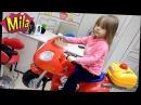 VLOG ♥ Детская Парикмахерская Кресло Мотоцикл Стрижка Ребенку ♦ Покупаем Розовую Шапку с Мини Маус