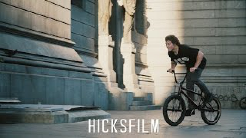 BMX - STEVIE CHURCHILL RIDING STREET IN SOUTH AMERICA