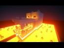 Майнкрафт Урок Как построить ДОМ ОГНЕННЫЙ ЧЕРЕП ДРАКОНА ЭНДЕРА - дом для выживания