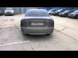 Audi A4 B7 custom exhaust
