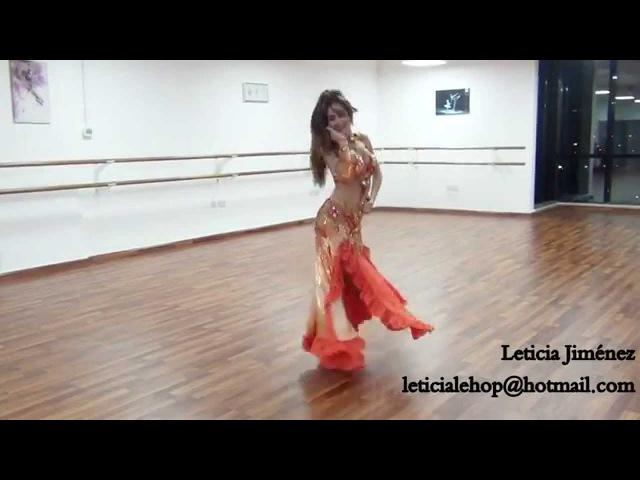 Leticia Jiménez, modern oriental Choreography, music:Lena By Amir Sofi