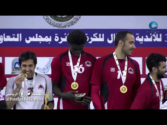 Qatar's Al Rayyan club coronation ceremony champion