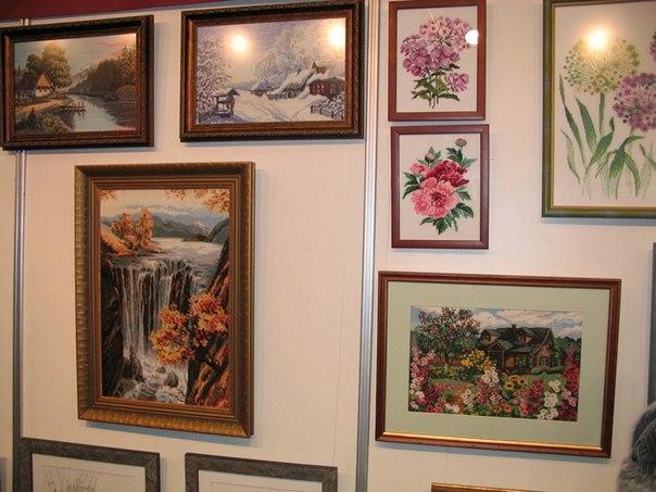 В Бавлах откроется выставка вышитых картин