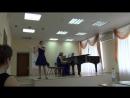 Анна Беляева. 13 лет. г.Липецк. И.С.Бах. Полонез, Менуэт и Шутка из Сюиты си-минор. Ж.Ибер. Концерт для флейты с оркестром, 1 ча