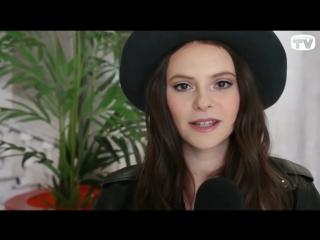 Francesca Michielin a Sanremo 2016 (Intervista Tv Sorrisi e Canzoni)