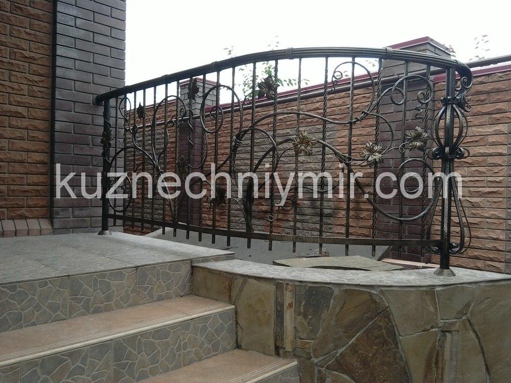 Ковка ограждений для балконов в Крыму, Симферополь