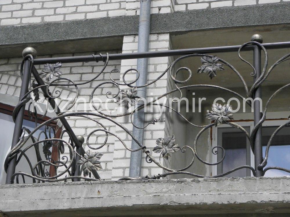Кованные ограждения для балконов, с установкой по Крыму