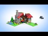 Конструктор LEGO Creator «Домик в горах» (Лего Криэйтор)