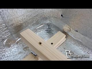 Монтаж пола на балконе из половой доски без утепления