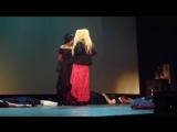 """Косплей-сценка по аниме Наруто """"Запретная техника"""" [Anistage 2013]"""