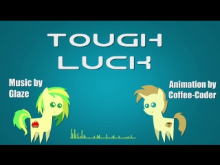 Glase - tough luck typography animation [preview #1]