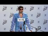 Владимир Маркони в роли «Артёма Сольфеджио» на кастинге проекта «ГОЛОС»