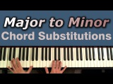 Major to Minor Chord Substitutions