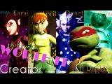 April, Karai, Renet, Mona - Worth It (girl band) Ft Raphael TMNT 2012 COMPLETE