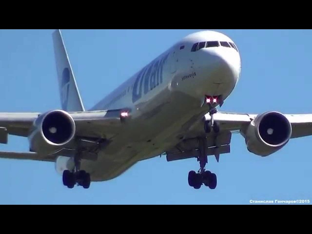 VQ-BSX UTair Aviation Boeing 767-306ER. Посадка в Шереметьево - SVO