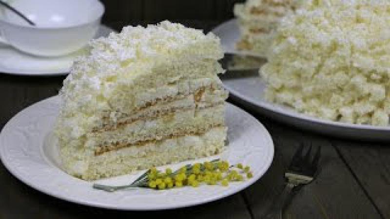Итальянский Торт Мимоза ✧ Torta Mimosa ✧ Mimosa Italian Cake (English Subtitles) » Freewka.com - Смотреть онлайн в хорощем качестве