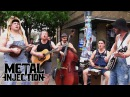 GUNS N' ROSES Paradise City Performed By STEVE 'N' SEAGULLS on SXSW Streets Metal Injection