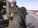 Вторая чеченская война -Чеченские боевики в плену у Российской армии