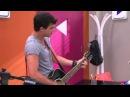 Violetta - León y Diego ensayan ¨Euforia¨ en inglés (Temp 2 - Ep 26)