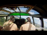 B-25 Mitchell Cockpit Cam - Spirit of St Louis Airshow 2016