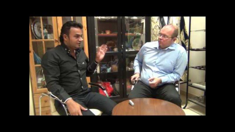 Интервью с Мехди Эбрагими Вафа. (Победителем 3 сезона Битвы экстрасенсов)