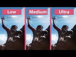 Battlefield 1 – PC Low vs. Medium vs. Ultra Open Beta Sinai Desert Map Graphics Comparison