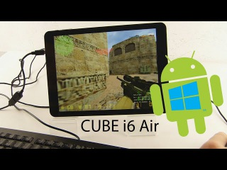 Обзор Китайского планшета Cube I6 3G Air Windows + Android
