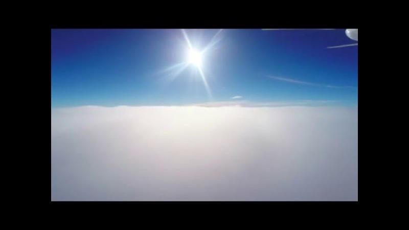 DJI Phantom 2 GoPro 4BE Zenmuse H4-3D над облаками