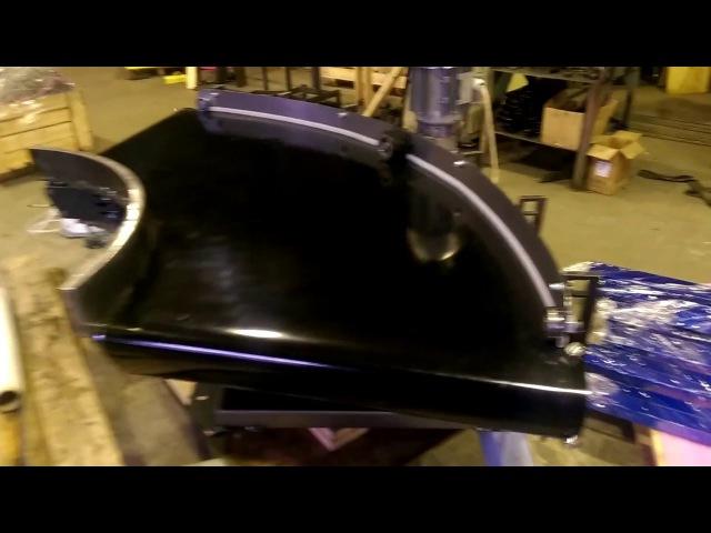 Поворотный ленточный конвейер