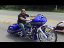 F Bomb Baggers Blue 30 Turbo Road Glide For Sale