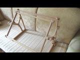 Станок для вышивки Арабеска Иволга/Открываем и собираем