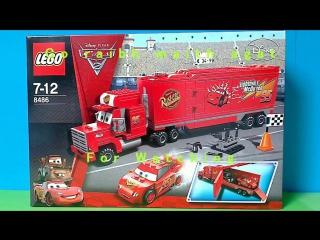 Команда грузовик LEGO Тачки 2 смотреть мультик