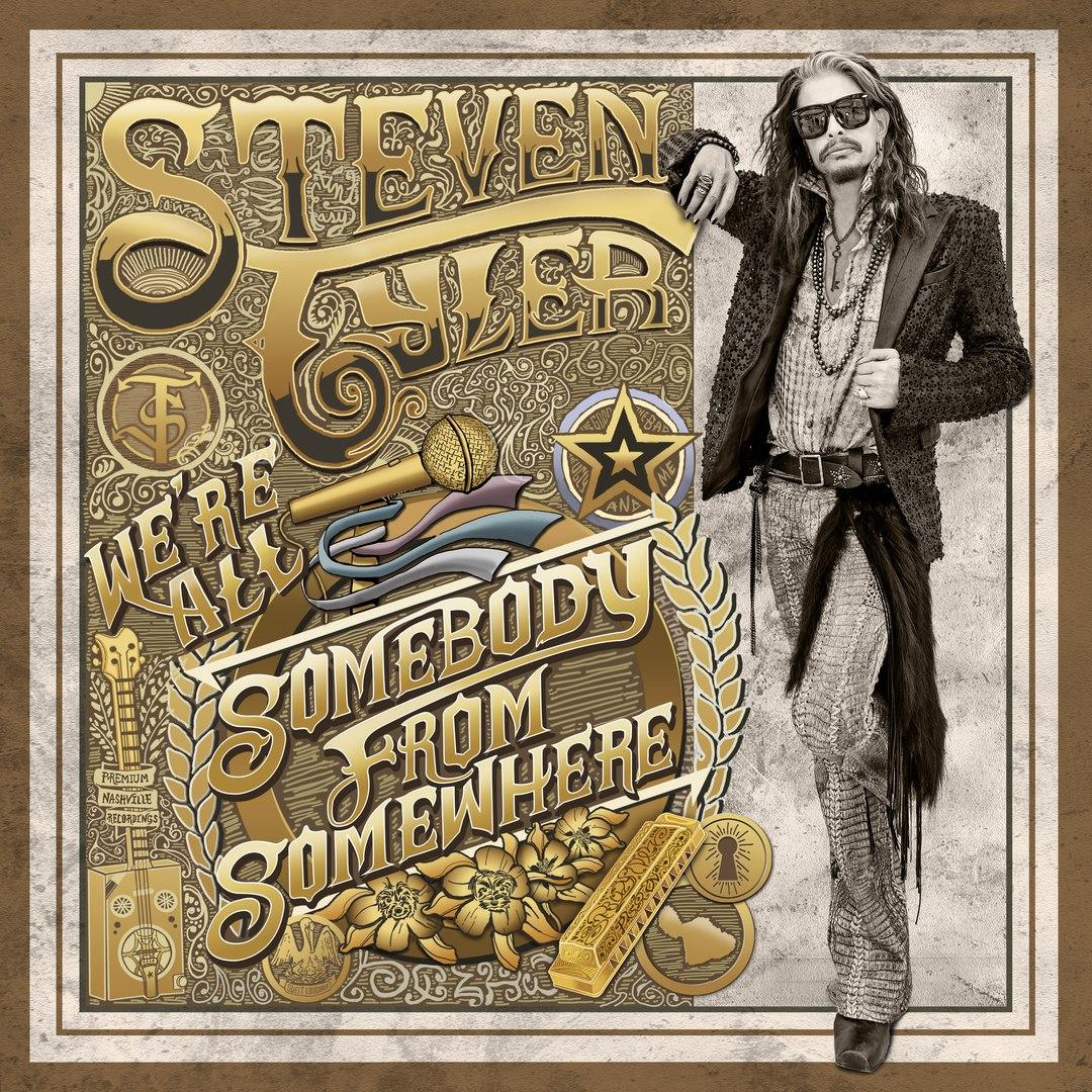 Новый альбом Steven Tyler - We're All Somebody From Somewhere