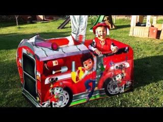 ★ ЩЕНЯЧИЙ ПАТРУЛЬ Пожарная Машина ЩЕНЯЧИЙ ПАТРУЛЬ PAW Patrol Toys Unboxing PAW Patrol for Kids