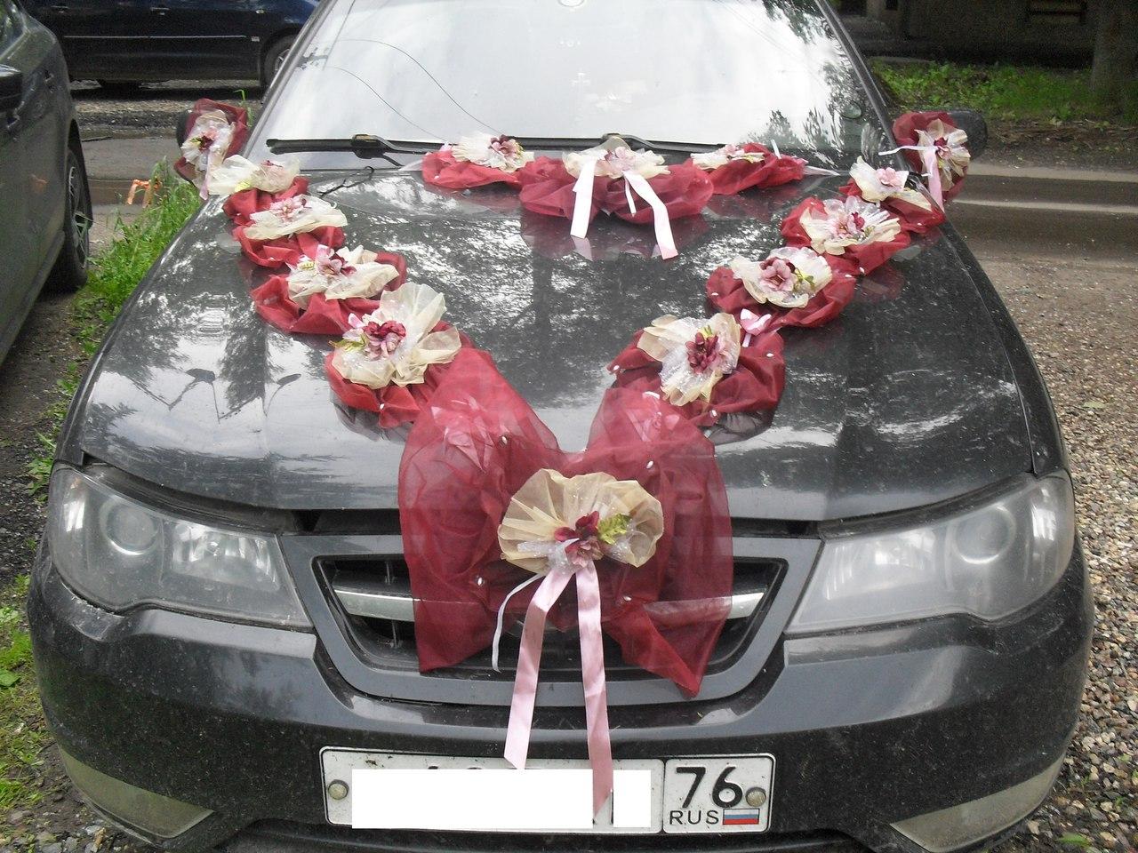Свадебные украшения на фото