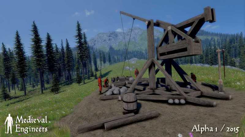 Medieval Engineers v02.050.004 (2015) скачать торрент