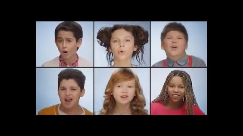 Діти переспівали легендарний Щедрик