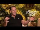 Дальняя дорога/The Longest Ride (2015) Интервью с Николасом Спарксом, Скоттом Иствудом, Бритт Робертсон и Уной Чаплин (русские с