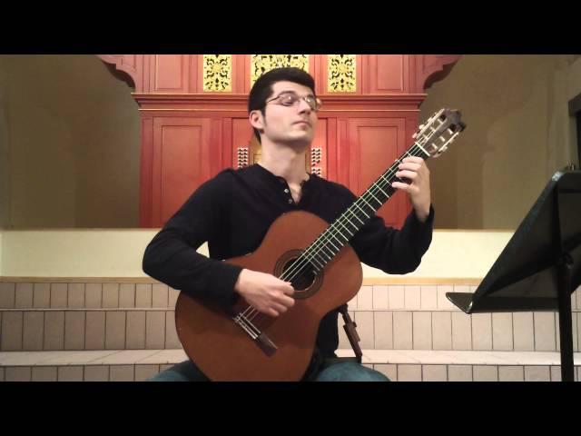 John Oeth performs V. Fugato Pathétique from Hommage à Aleksander Tansman by Marek Pasieczny