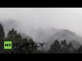 Тайвань: 15 погибших, как похолодание охватывает Тайбэй в снегу.