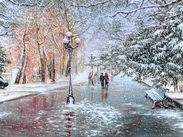 Стефан ВОРОНОВ - Сняг бавно пада (Tombe la neige)