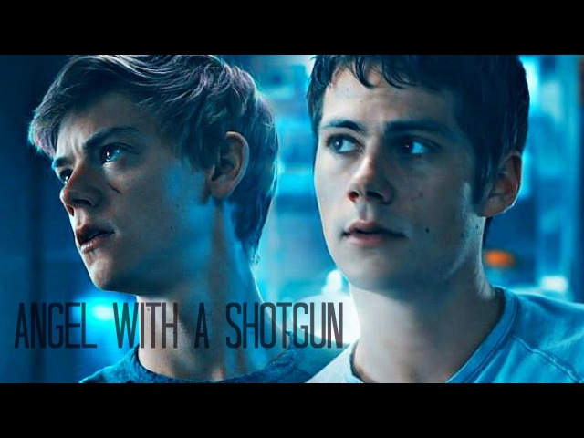 Newt Thomas [the Scorch Trials] - Angel with a Shotgun