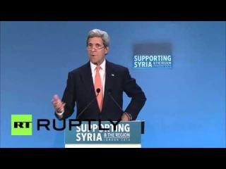 Великобритания: Керри утверждает он имел разговор с Лавровым по Сирии прекращения огня.