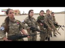 Syrian Christian girls defend their town from Western backed moderate rebels