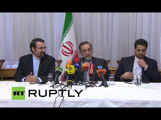 LIVE: Iran leader's top advisor Velayati holds press conference in Moscow